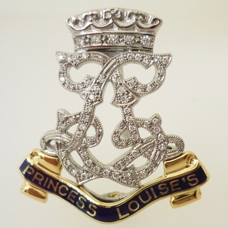 115 Military and Society Brooches