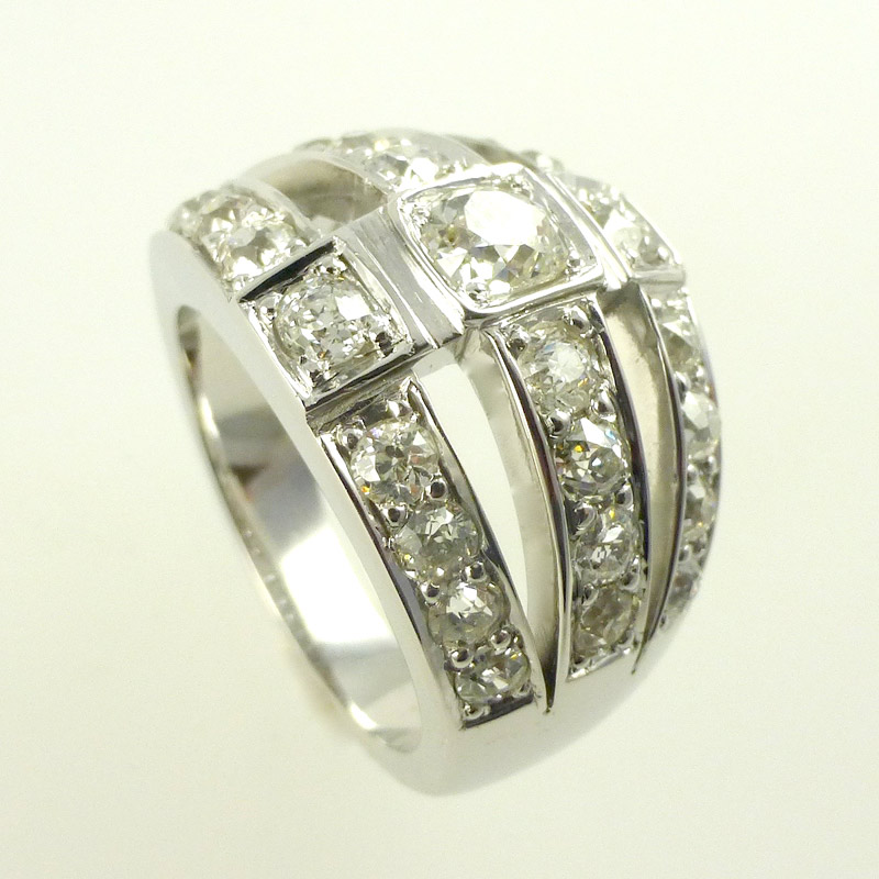 Diamond-dress-ring Dress Rings